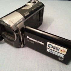 DEFECT camera video Panasonic SDR-S70 card SD zoom 78x baterie VW-VBL090 SDR S70