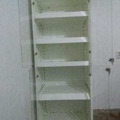 Vand dulap metalic cabinet/salon/farmacie usi plexiglas
