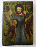 Sfantul Ioan Botezatorul icoana veche pe lemn