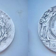 Set 3 Medalii Franta Conservatorul Muzica bronz argintat.