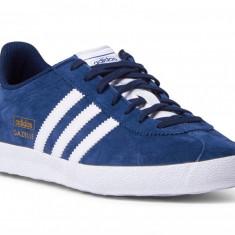 Adidasi Adidas Gazelle cod produs q21600 - Adidasi barbati, Marime: 43, 43 1/3, 44 2/3, Culoare: Din imagine, Piele naturala