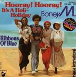 "Boney M - Hooray hooray, it's a....  (1979, Hansa) Disc vinil single 7"""