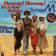 Boney M - Hooray hooray, it's a.... (1979, Hansa) Disc vinil single 7