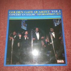 Golden Gate Quartet-Vol.1-Concert in Eglise-Ibach 1980 France vinil vinyl - Muzica Jazz