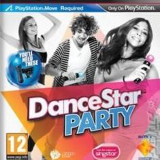 Dance Star Party ( PS Move ) - PS3 [Second hand] - Jocuri PS3, Simulatoare, 3+, Single player
