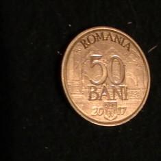 50 BANI/2017-10 ANI DE LA ADERAREA LA UNIUNEA EUROPEANA- - Moneda Romania, Cupru-Nichel