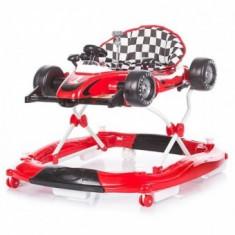 Premergator copii Chipolino Racer 4 in 1 Red