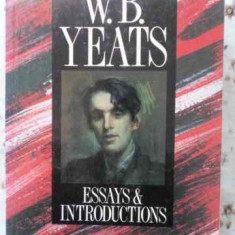Essays & Introductions - W.b. Yeats, 407142 - Carte in engleza
