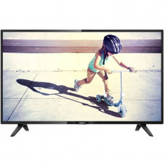 Televizor Philips LED 43 PFT4112 109cm Full HD Black - Televizor LED Philips, 108 cm