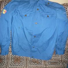 Veston Premilitar - anii '70 produs la Intreprinderea Confectii Targu Jiu - Uniforma militara, Marime: 40, Culoare: Albastru