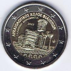 moneda 2 euro comemorativa GRECIA 2017_Fillippi - UNC