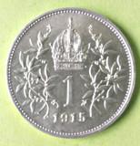 AUSTRIA 1 KOROANA KORONA CORONA KRONEN 1915  ARGINT AUNC, Europa