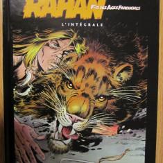 Revista cartonata A4 : RAHAN INTEGRALE VOL.1 colectia SOLEIL negru - Reviste benzi desenate