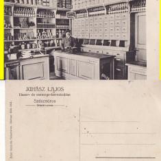 Orastie-Broos, Szaszvaros- magazin, rara - Carte Postala Transilvania 1904-1918, Necirculata, Printata