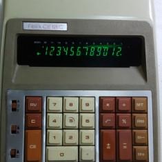 Calculator vechi birou de colectie anii 70 Felix ICE Ce 126c functional vintage - Calculator Birou