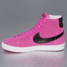 Bascheti originali NIKE BLAZER MID - Gheata dama Nike, Culoare: Din imagine, Marime: 38, 38.5, Piele naturala