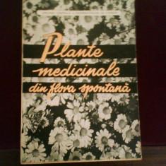 Plante medicinale din flora spontana, ed. princeps, 1962