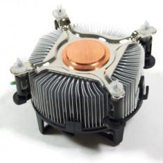 Cooler Original Intel 775 Box Pastila Cupru Ventilator de 80 mm Modelul inalt - Cooler PC Intel, Pentru procesoare
