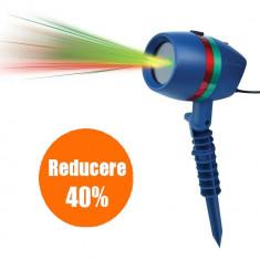 Star Shower Motion, Proiectie lumini laser, Static si miscator