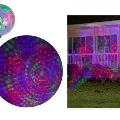 PROMO! PROIECTOR EXTERIOR STAR SHOWER LED SMD,COLOR,DECOREAZA MINUNAT IARNA ASTA