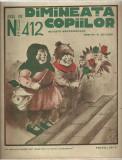Revista DIMINEATA COPIILOR - 3 ianuarie 1932, director N.Batzaria