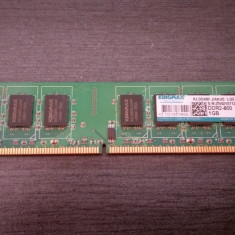 Memorii RAM KINGMAX DDR2 800 1GB x 2 si CPU E5200 2.50 GHz - Memorie RAM