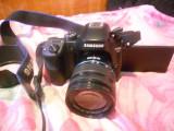 Aparat foto Mirrorless Samsung NX30, 20.3 MP, Black + Obiectiv 18-55mm, Kit (cu obiectiv)
