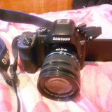 Aparat foto Mirrorless Samsung NX30, 20.3 MP, Black + Obiectiv 18-55mm