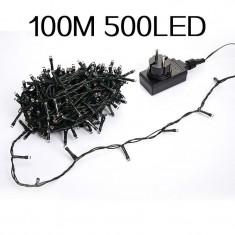 PROMOTIE!DECOREAZA MINUNAT CU GHIRLANDA LEDURI 100 METRI,500 LEDURI,CONTROLLER.