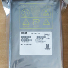 Hard Disk Hitachi HGST Ultrastar 7K6000 HUS726020ALA610 HDD 2TB, 128MB, 7200RPM SATA3, Peste 2TB