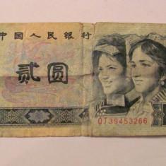 CY - 2 yuan 1990 China