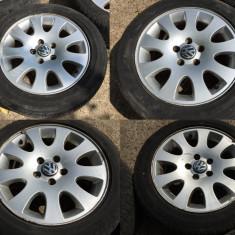 Set 4 Jante Aliaj 16'' Volkswagen Passat B5 Audi A4 A6 Originale 5x112 MODEL RAR - Janta aliaj Volkswagen, Numar prezoane: 5
