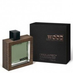 Dsquared2 He Wood Rocky Mountain Wood EDT 100 ml pentru barbati - Parfum barbati Dsquared2, Apa de toaleta