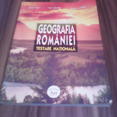 GEOGRAFIA ROMANIEI TESTARE NATIONALA-STELUTA DAN ART 2005 - Carte Teste Nationale