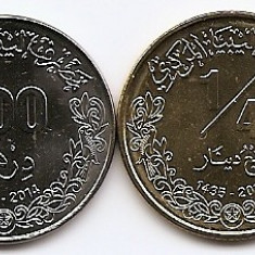 Libia Set 4 - 50, 100 Dirham, 1/4, 1/2 Dinars 2014 - UNC !!!, Africa