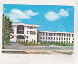 Bnk cp Alexandria - Sediul Consiliului popular judetean - circulata - marca fixa, Printata