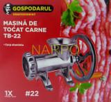 Masina de tocat carne nr 22 din ALUMINIU cu fulie mare
