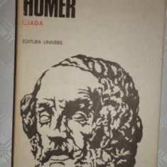 Iliada ( traducere George Murnu ) an 1985/543pag- Homer