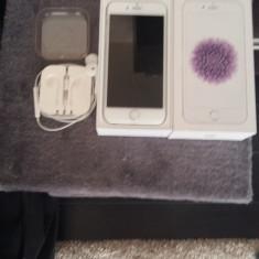 iPhone 6 Apple White 16 Gb, Argintiu, Neblocat