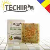 Sapun natural terapeutic antireumatic cu namol si turmeric Techir 120 gr