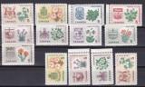 Canada  1964  flori steme  MI 362-370   MNH   w47, Nestampilat