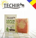 Sapun natural pentru ten si corp cu namol si kale Techir 120 gr