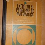 Gheba - Exercitii si probleme de matematica 395pag/an 1969 - Carte Matematica