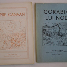 Iosif Trifa - Spre Canaan + Corabia lui Noe (2 carti) - Carti ortodoxe