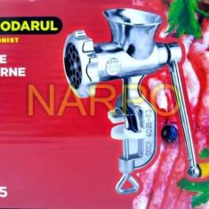 Masina de tocat carne nr 5 aluminiu manuala TB-5 - Masina de tocat manuala, Pentru carne
