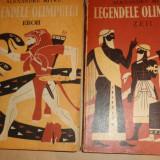 Legendele Olimpului zeii + eroii / ilustratii C.Condacci/an 1973- Al. Mitru - Carte mitologie