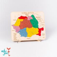 Puzzle Altele Harta Romaniei cu Judete