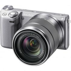 Camera Foto Mirrorless SONY NEX 5R Grey 16, 7 Mega Pixeli - Aparate foto Mirrorless