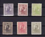 ROMANIA  1909/14 , LP 67 , CAROL I  TIPOGRAFIATE  GUMA  ORIGINALA SERIE MNH, Nestampilat