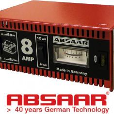 ABSAAR Redresor Incarcare Baterii Moto 6V si Auto 12V 80A